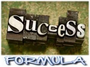 Success formula.